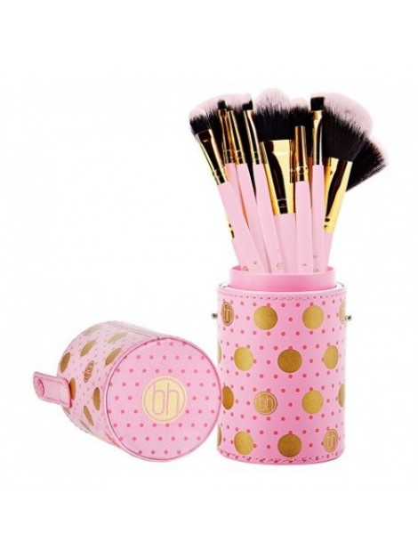 set-pinceaux-dot-collection-pink-bh-cosmetics